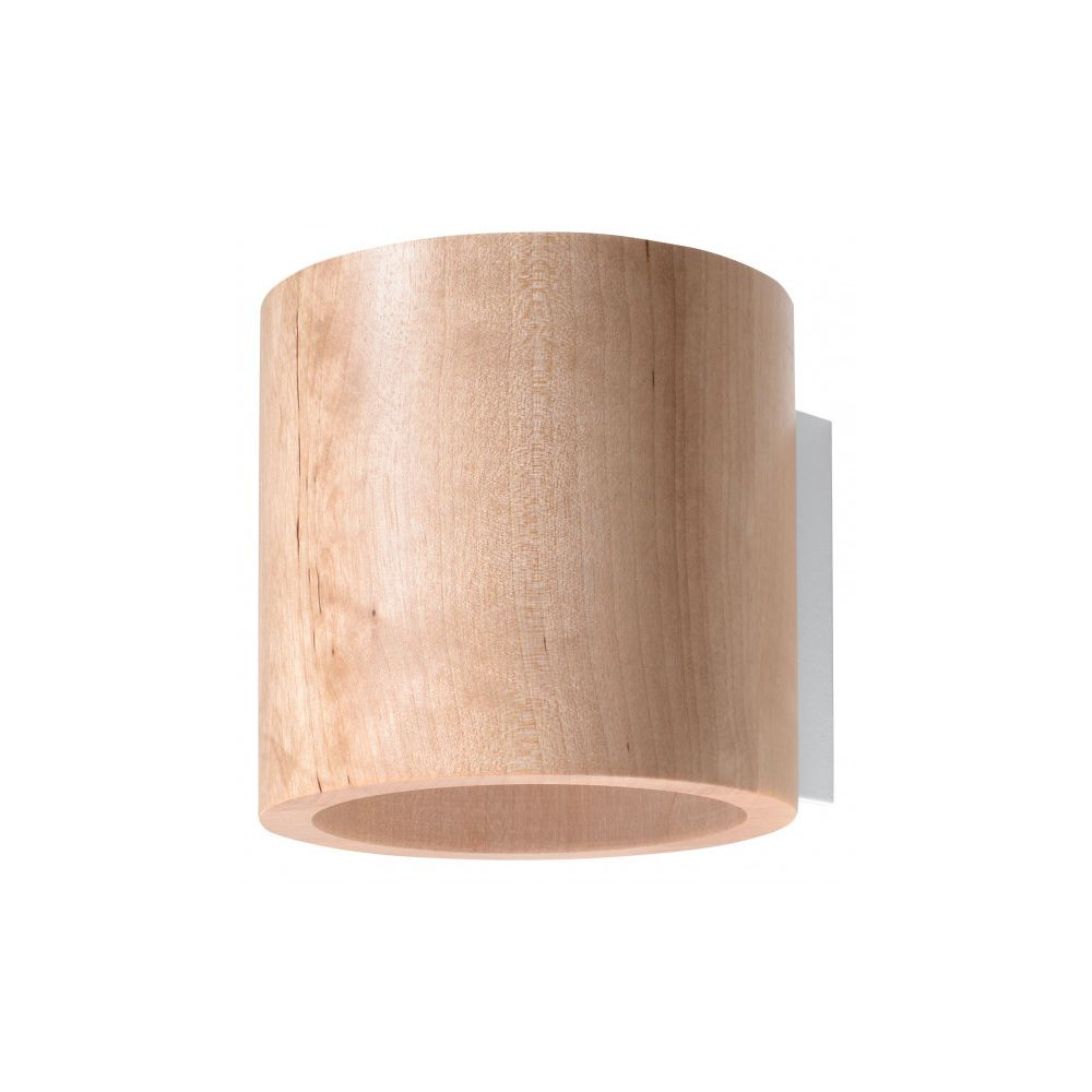 Luminaire Center Applique murale ORBIS bois bois naturel 1 ampoule
