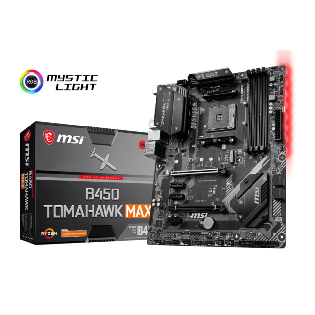 Msi - AMD B450 TOMAHAWK MAX - ATX - Composants