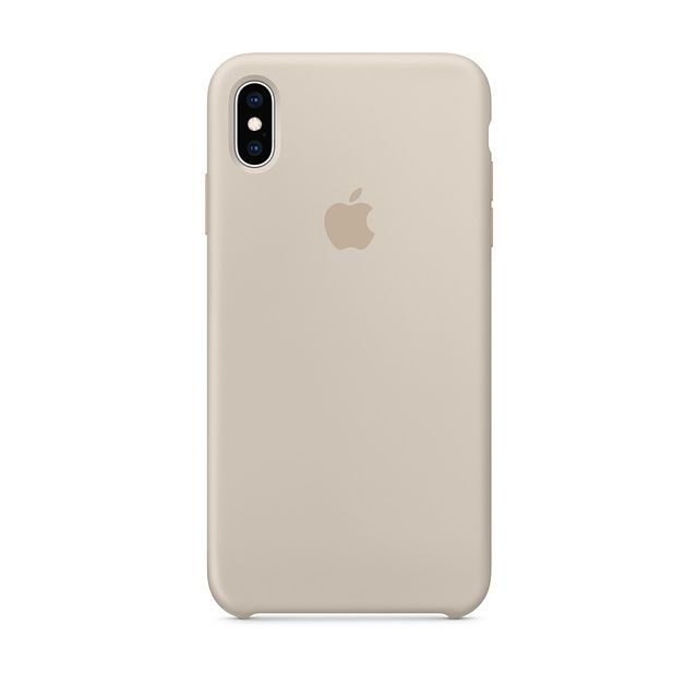 Apple -iPhone XS Max Silicone Case - Gris sable Apple  - Accessoire Smartphone Iphone xs max