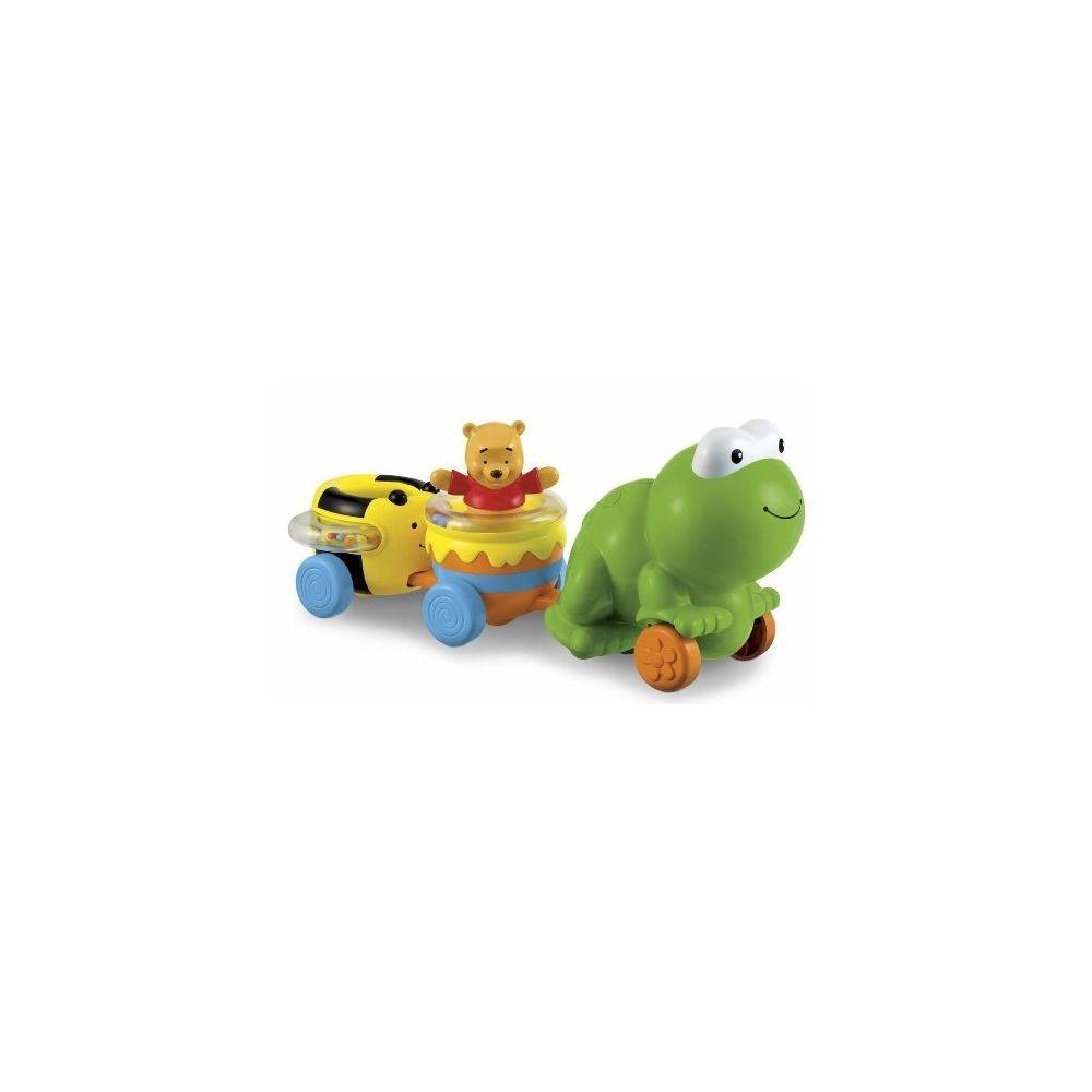 Fisher Price Mattel- T1630 - Winnie the Pooh - Eveil - Train de l'amitié