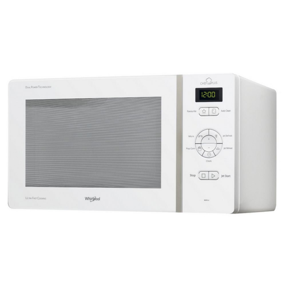 whirlpool whirlpool - micro-ondes solo 25l 800w blanc - mcp341wh