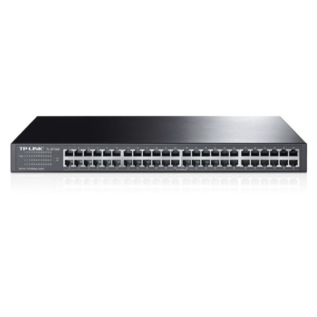 TP-LINK - Switch réseau TP-Link 48 ports RJ45 10/100 rackable - Switch TP-LINK