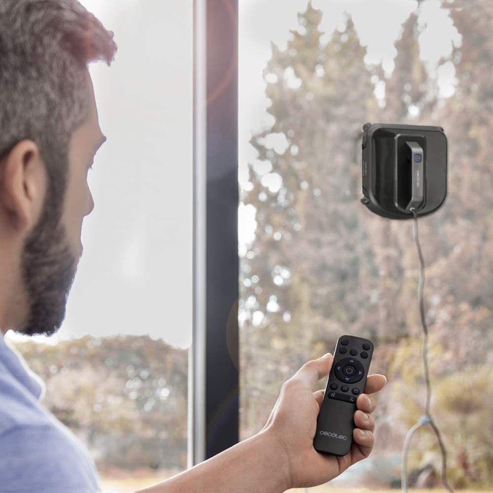 Cecotec Robot lave-vitres intelligent iTech Win 4.0 noir