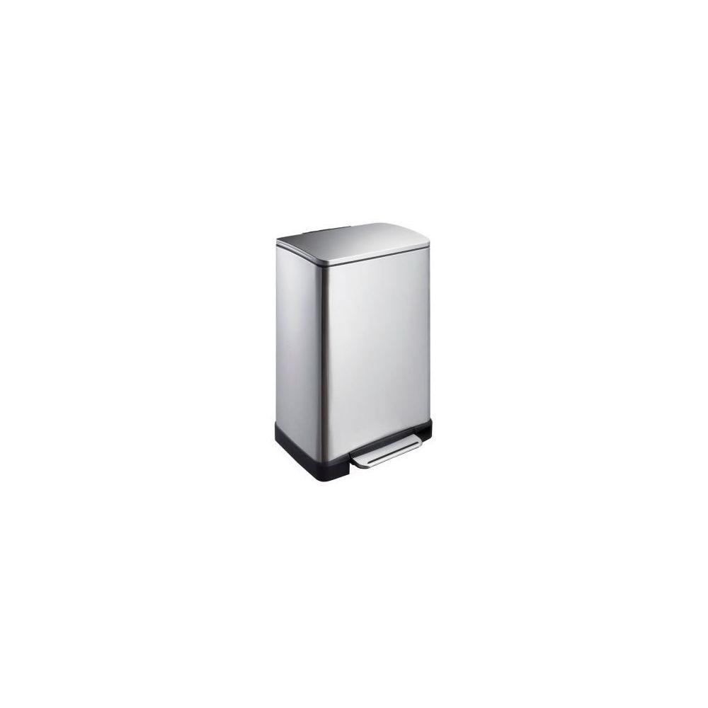 Rubbermaid Poubelle de Tri Sélectif E-cube 40L Inox