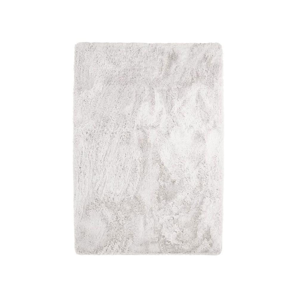Mon Beau Tapis NEO YOGA - Tapis à poils longs extra-doux blanc 225x340
