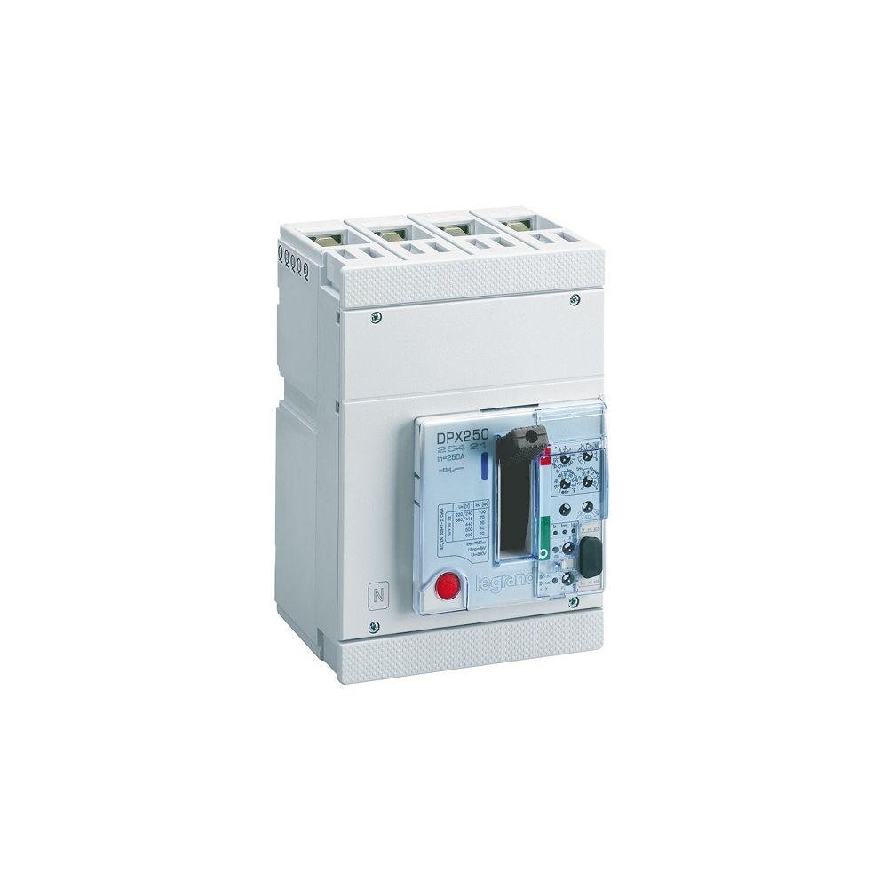 Legrand Legrand 025421 - Disjoncteur puissance DPX-H 250 - électronique S1 - 70kA 100A 4P
