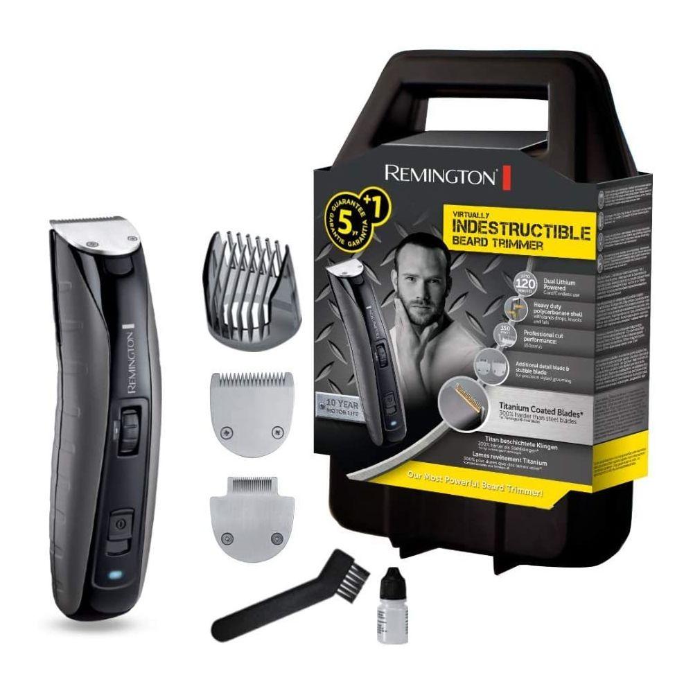 Remington Tondeuse électrique Barbe étanche sans fil gris noir