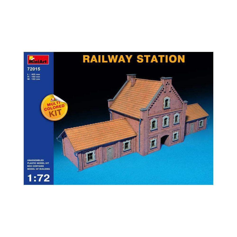 Mini Art Railway Station - Décor Modélisme