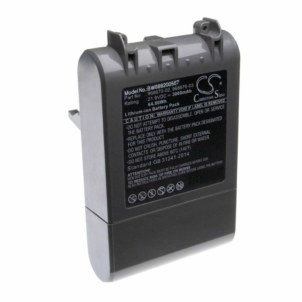 Vhbw vhbw batterie compatible avec Dyson SV11, V7, V7 Motorhead Pro, V7 Motorhead vacuum, V7 Total Clean Home Cleaner (3000mA