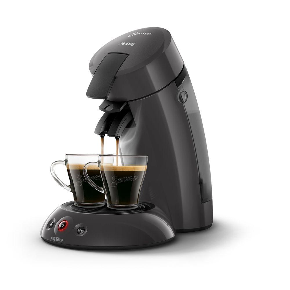 Philips Machine à café à dosettes Senseo - HD6552/36 - Gris foncé