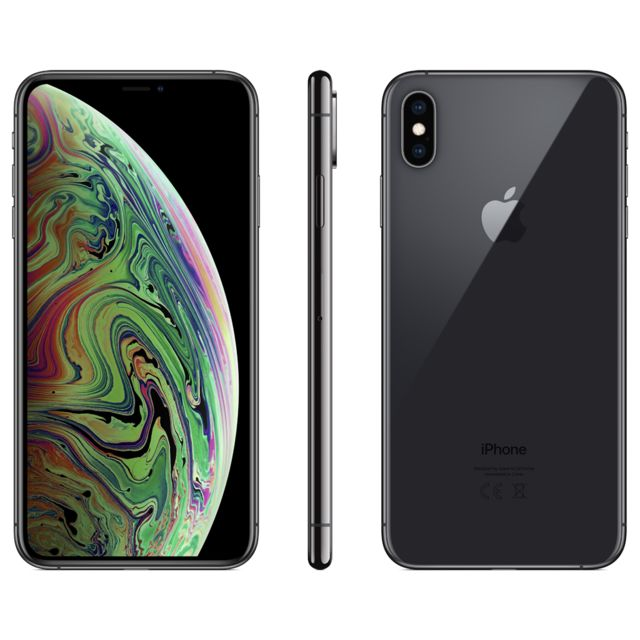 Apple -iPhone XS Max - 512 Go - Gris Sidéral Apple  - iPhone