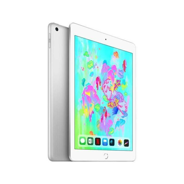 Apple - iPad 2018 - 32 Go - WiFi - MR7G2NF/A - Argent - Tablette tactile 9,7'' (24,6 cm)