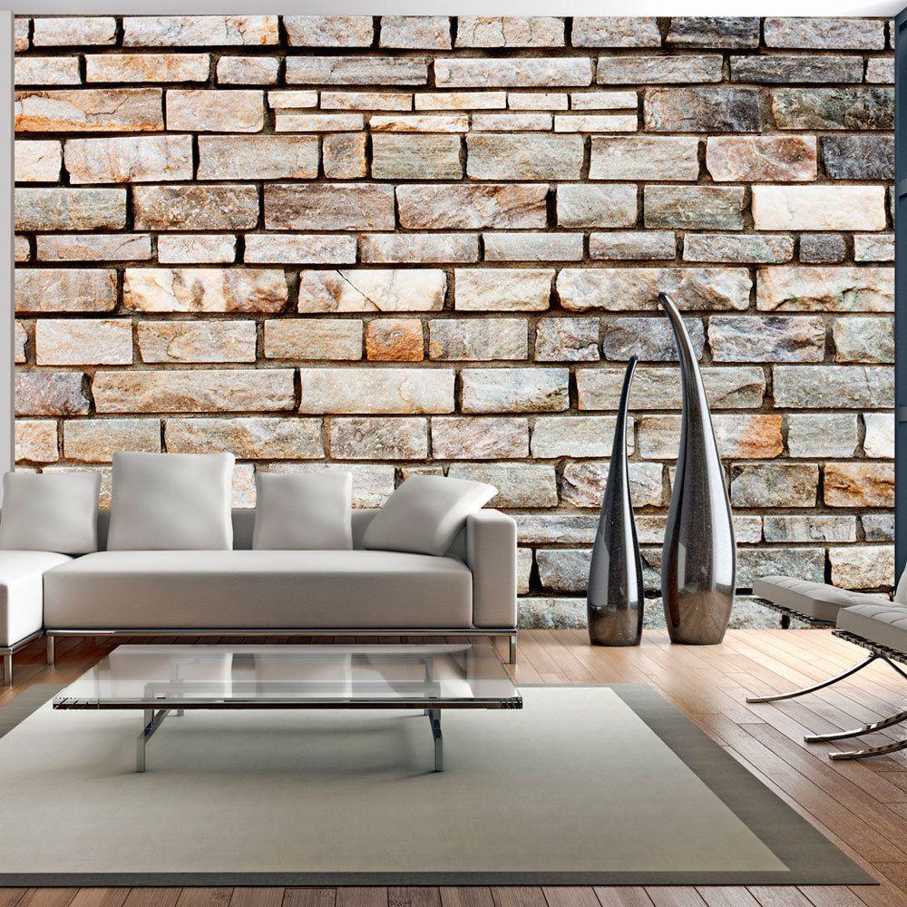 Bimago Papier peint | Puzzle des briques | 150x105 | Fonds et Dessins | Brique |