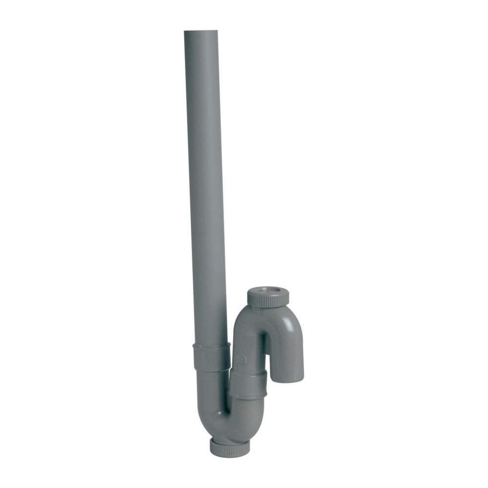 Nicoll siphon machine à laver - simple - sortie verticale - orientable - diamètre 40 mm - nicoll 1yh23c
