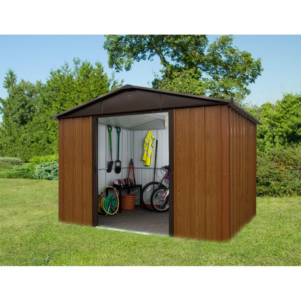 Trigano Abri de jardin métal 108WGY S.H.T 7,18 m²