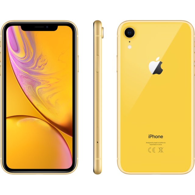 Apple - iPhone XR - 128 Go - MRYF2ZD/A - Jaune - iPhone