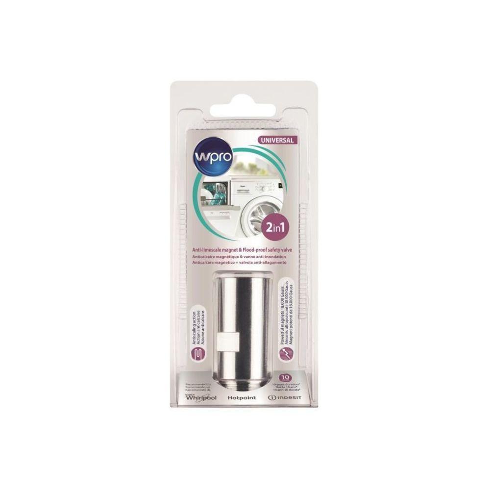 Wpro MWB103 Anticalcaire magnétique + Vanne anti débordements