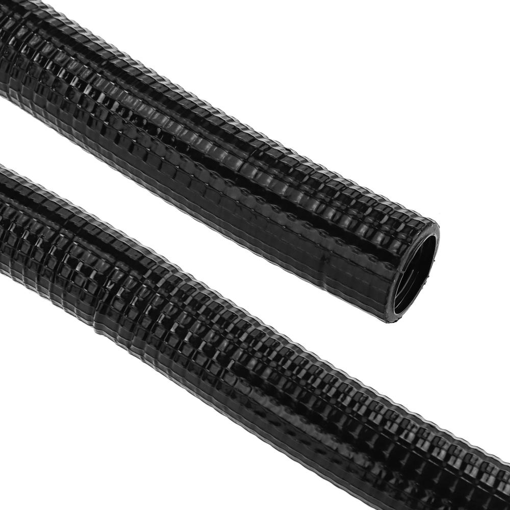 Bematik BeMatik - Tuyau ondulé renforcé PVC M-32 50 m Noir