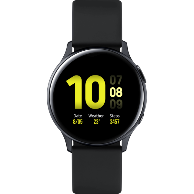 Samsung - Galaxy Watch Active 2 - 40 mm - Alu Noir Carbone  - Objets connectés