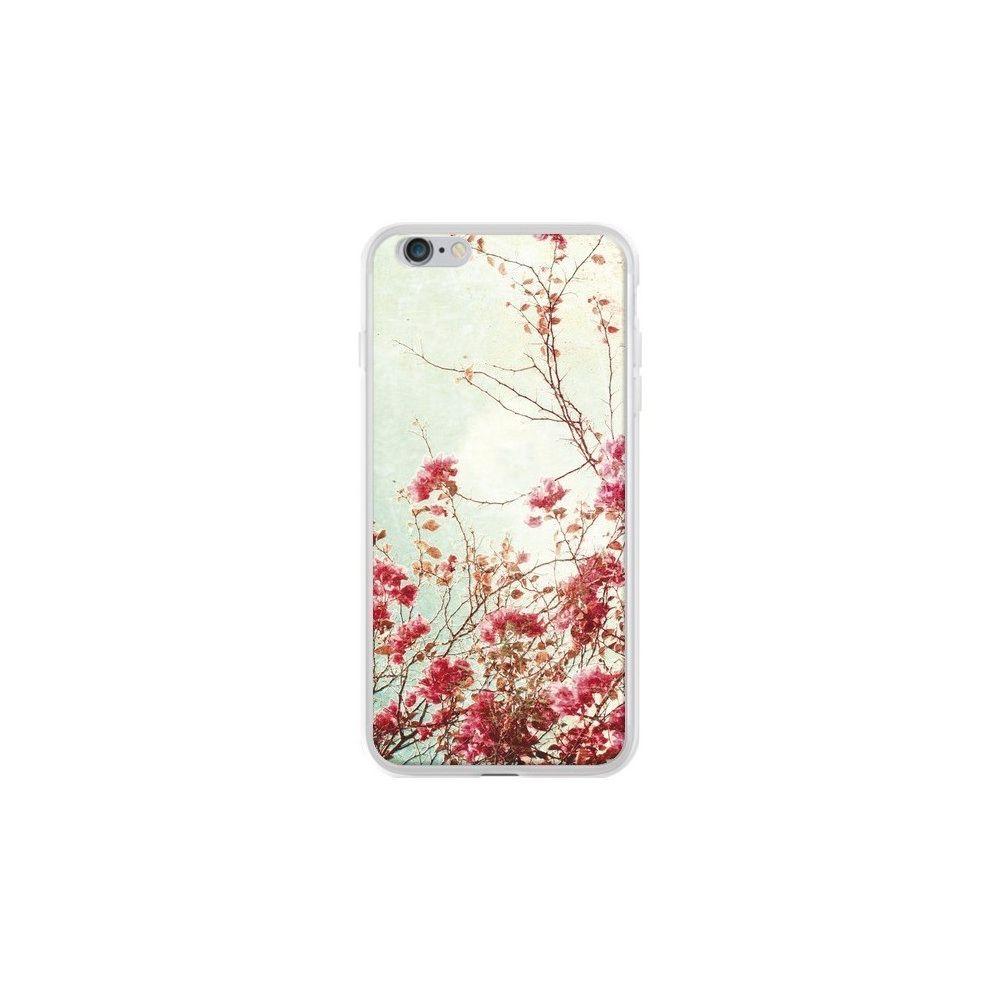 Apple - Coque iPhone 6 Plus et 6S Plus Fleur Vintage Rose - Nico