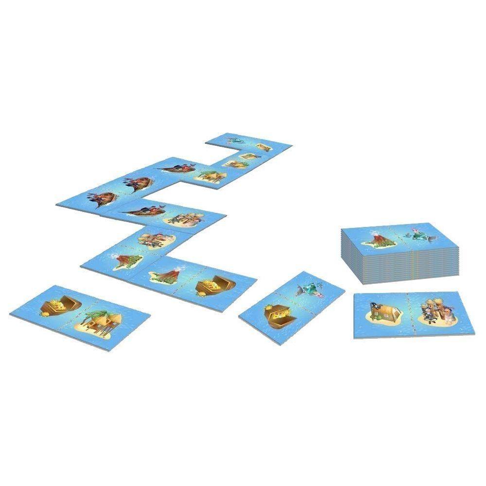House Of Kids Dominos géants 28 pièces avec sac de rangement Pirate