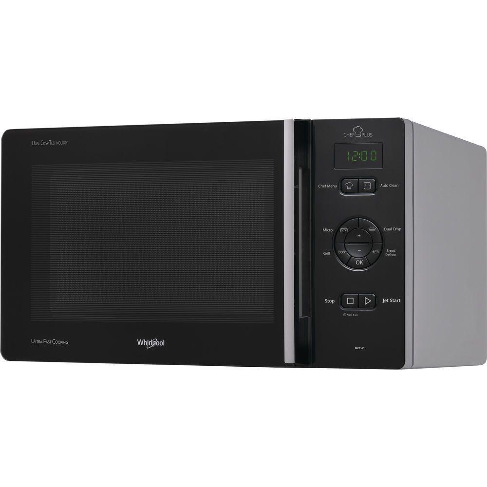 whirlpool Four à micro-ondes Chef Plus avec gril et Crisp MCP345SL