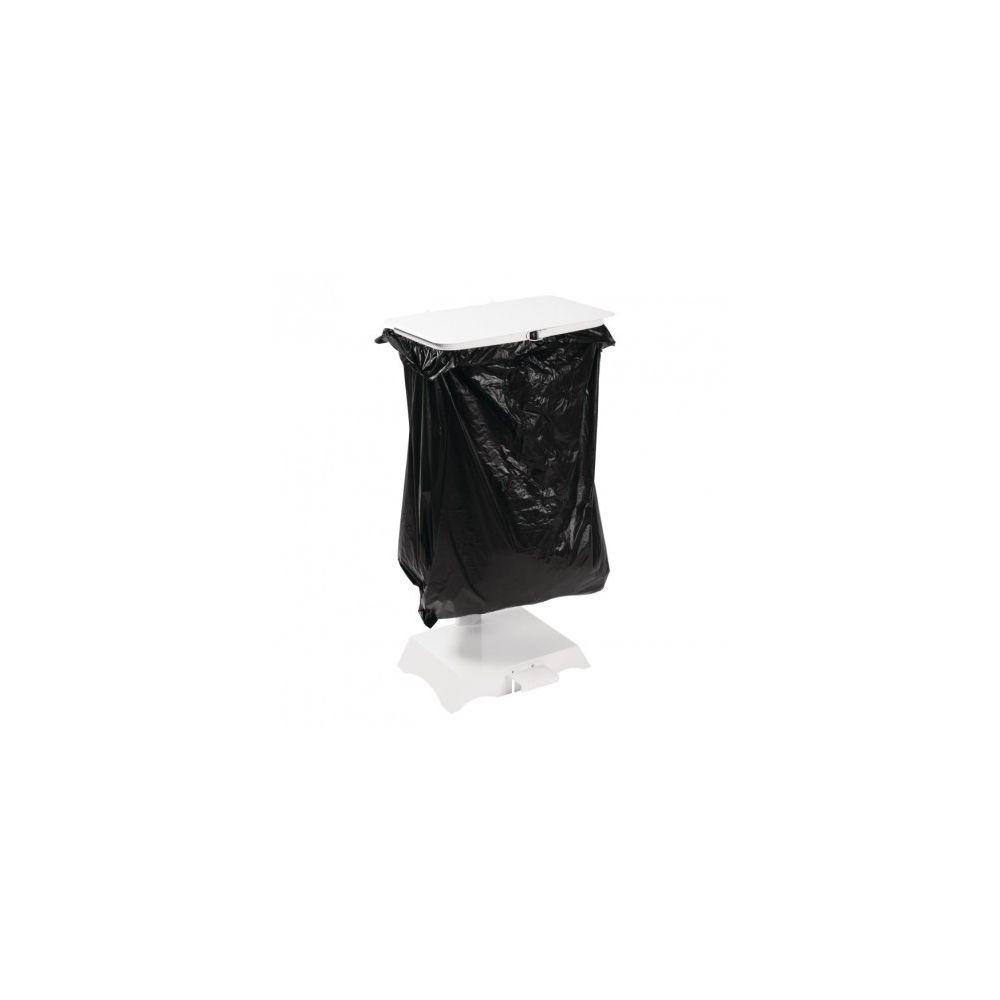 Jantex Support pour sac poubelle - En acier blanc - Jantex -
