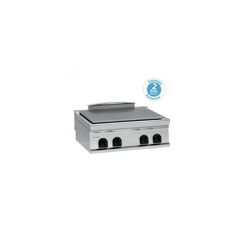 Materiel Chr Pro Plaque électrique de mijotage double à poser - 4 plaques - gamme 900 - module 400 - Tecnoinox -