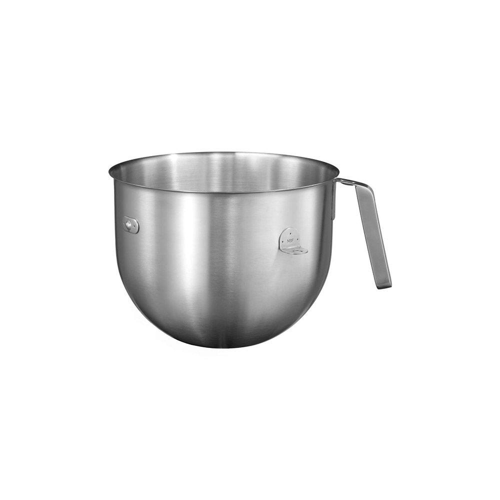 Kitchenaid kitchenaid - bol 6.9l inox brossé à poignée pour artisan professionnel - 5kc7sb