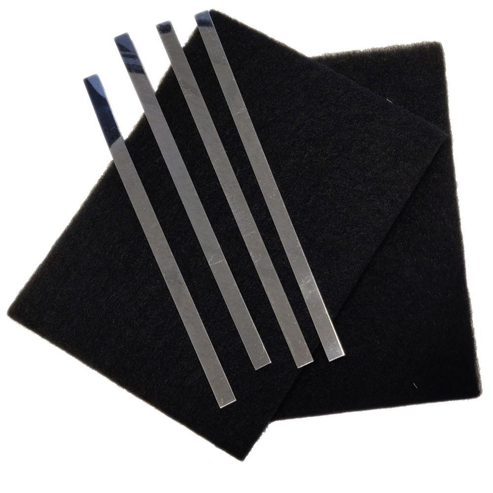 Sauter Lot de 2 filtres charbon (avec tiges de fixation)