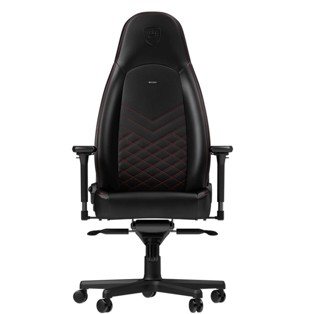 Noblechairs - ICON - Noir/Rouge - Chaise gamer