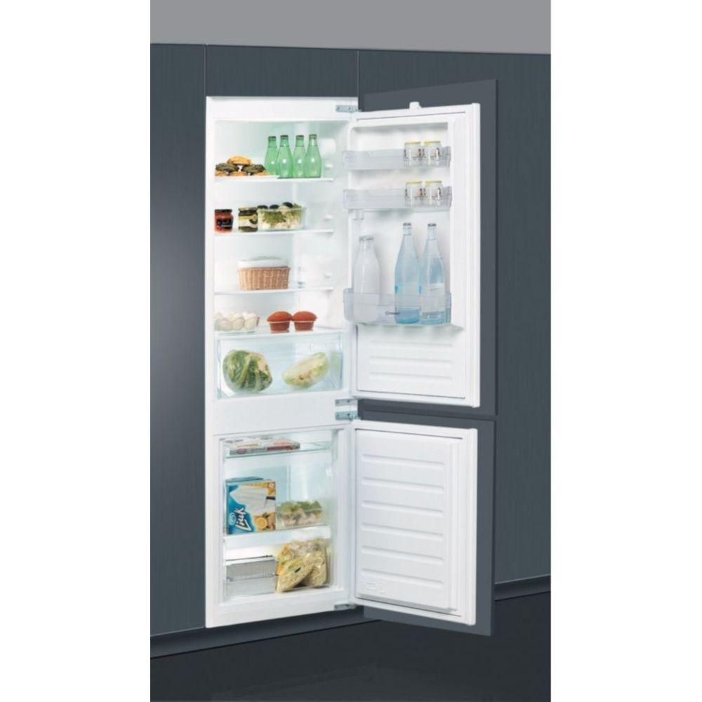 Indesit indesit - réfrigérateur combiné intégrable à glissière 275l a+ gris - b18a1di