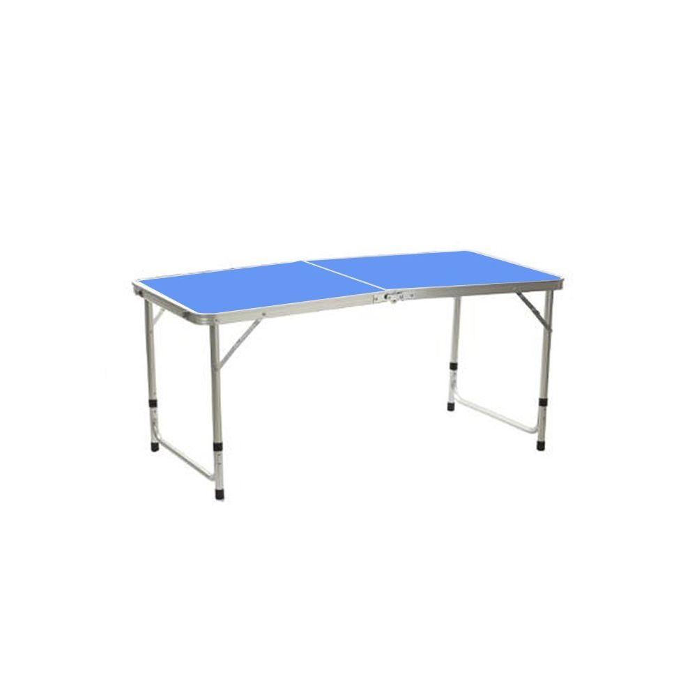 Atmosphera, Createur D'Interie Table pliante alu bleu