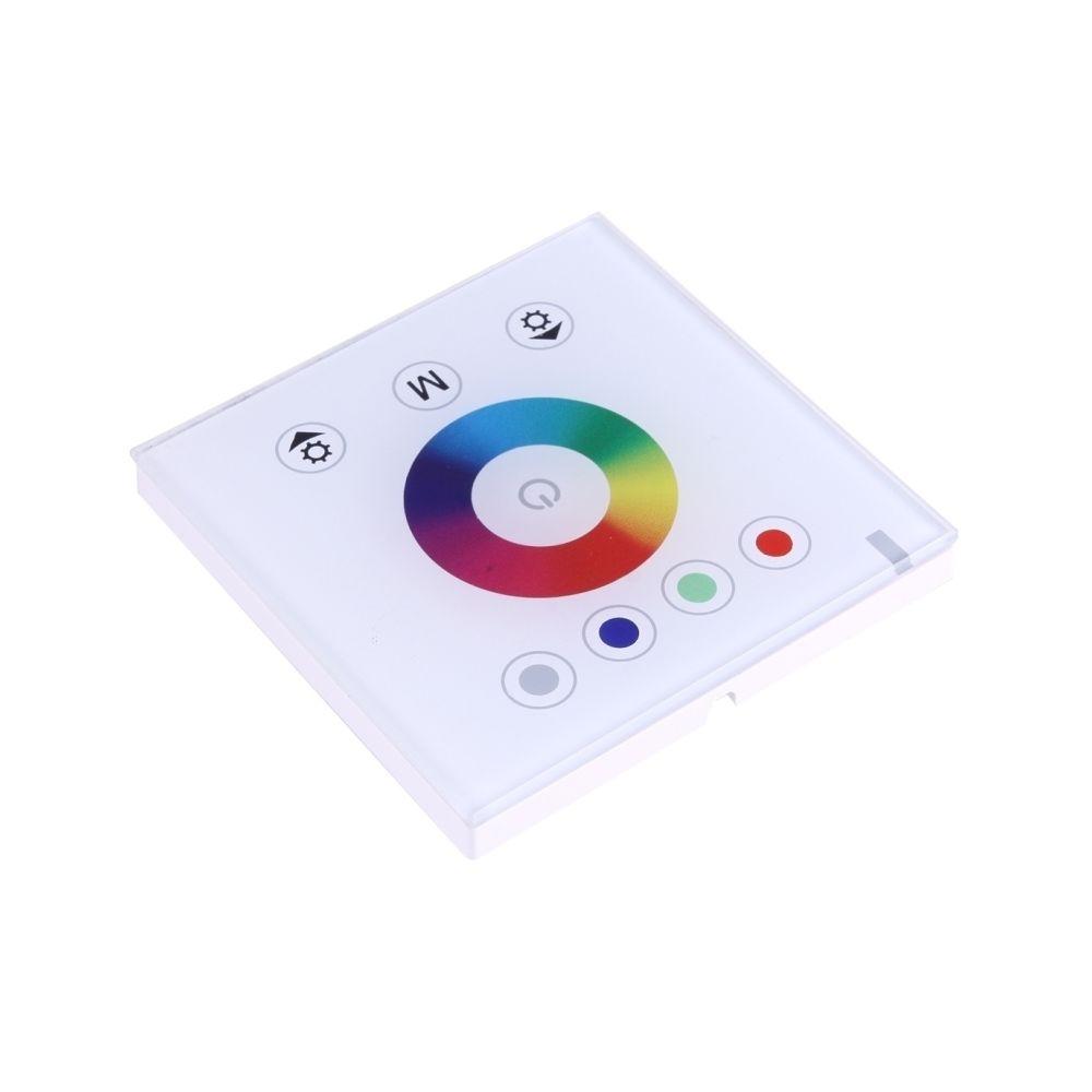 Wewoo SX-M004 RGBW Double Panneau tactile blanc Télécommande LED, DC 12-24V