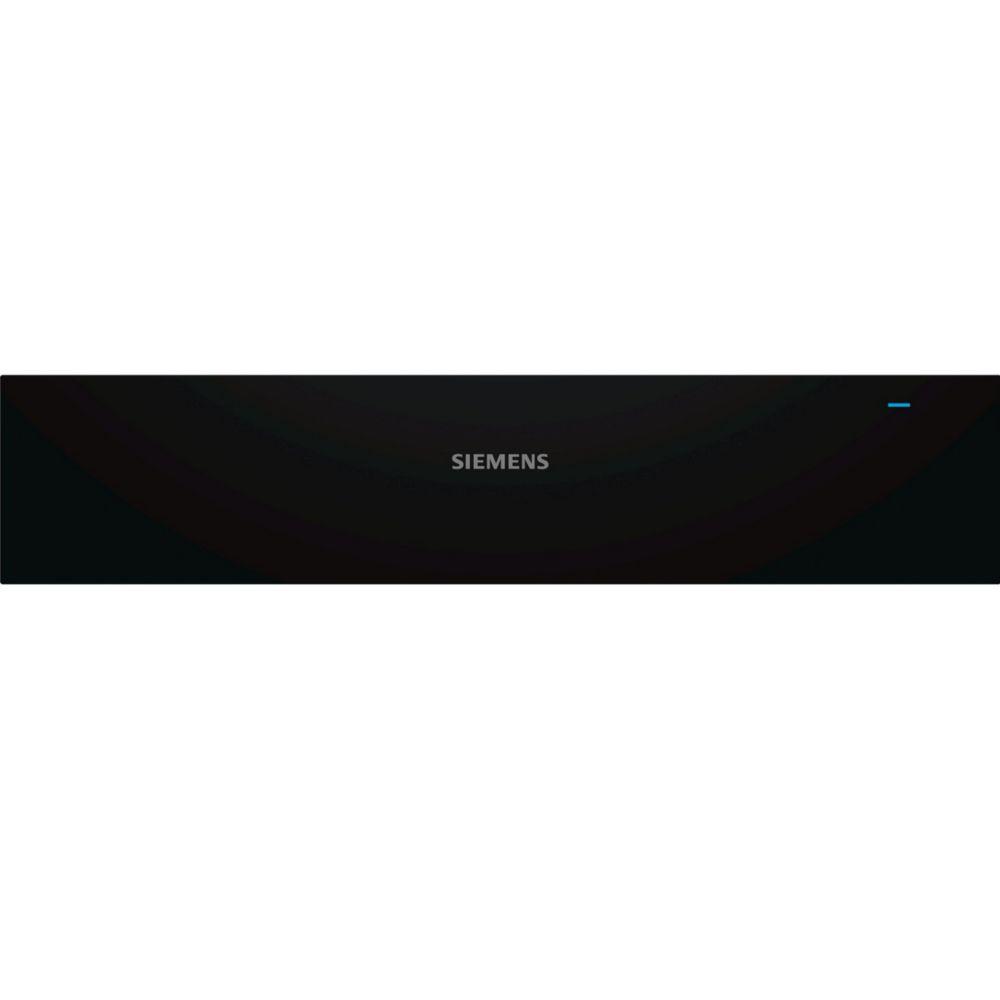 Siemens siemens - tiroir chauffant 14cm noir/inox - bi510cnr0