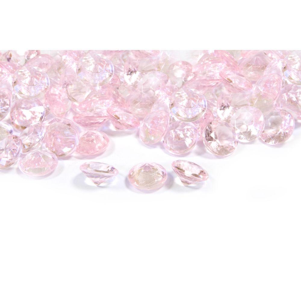 Visiodirect Lot de 12 Sachets de 60 grs de diamant de couleur Rose