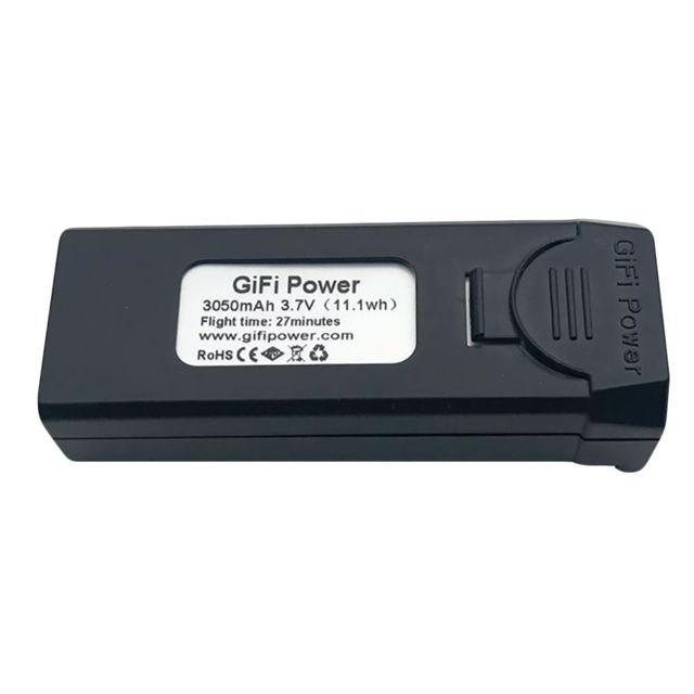 Generic 2pc Puissance 3 7v 3050mah Gifi Batterie Lipo Pour Visuo Xs809s Xs812 Xs809hw Rc Drone Accessoires Drone Connecte Rue Du Commerce
