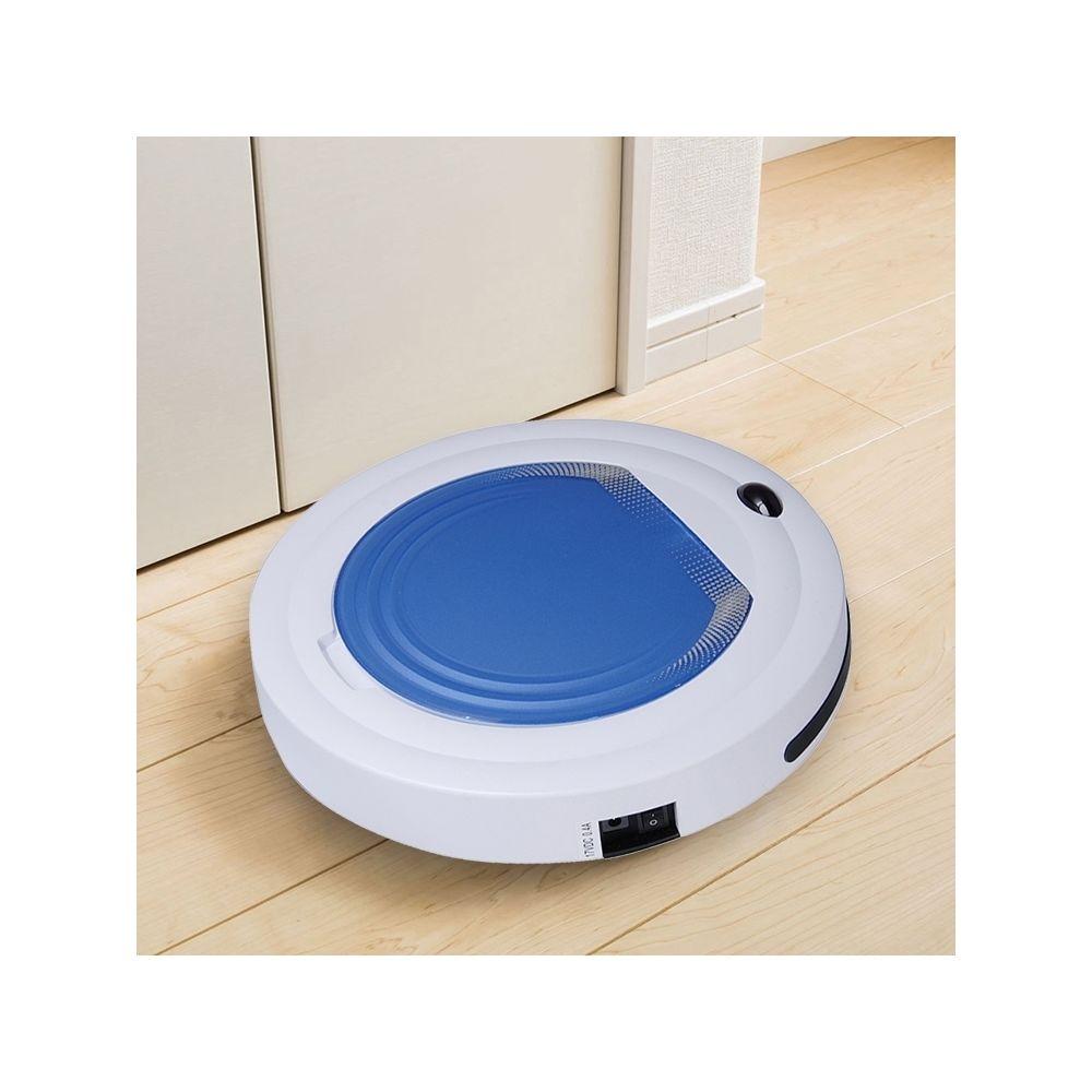 Wewoo Robot Aspirateur nettoyeur ménager à balayage TC-350 Smart pour avec télécommande bleu