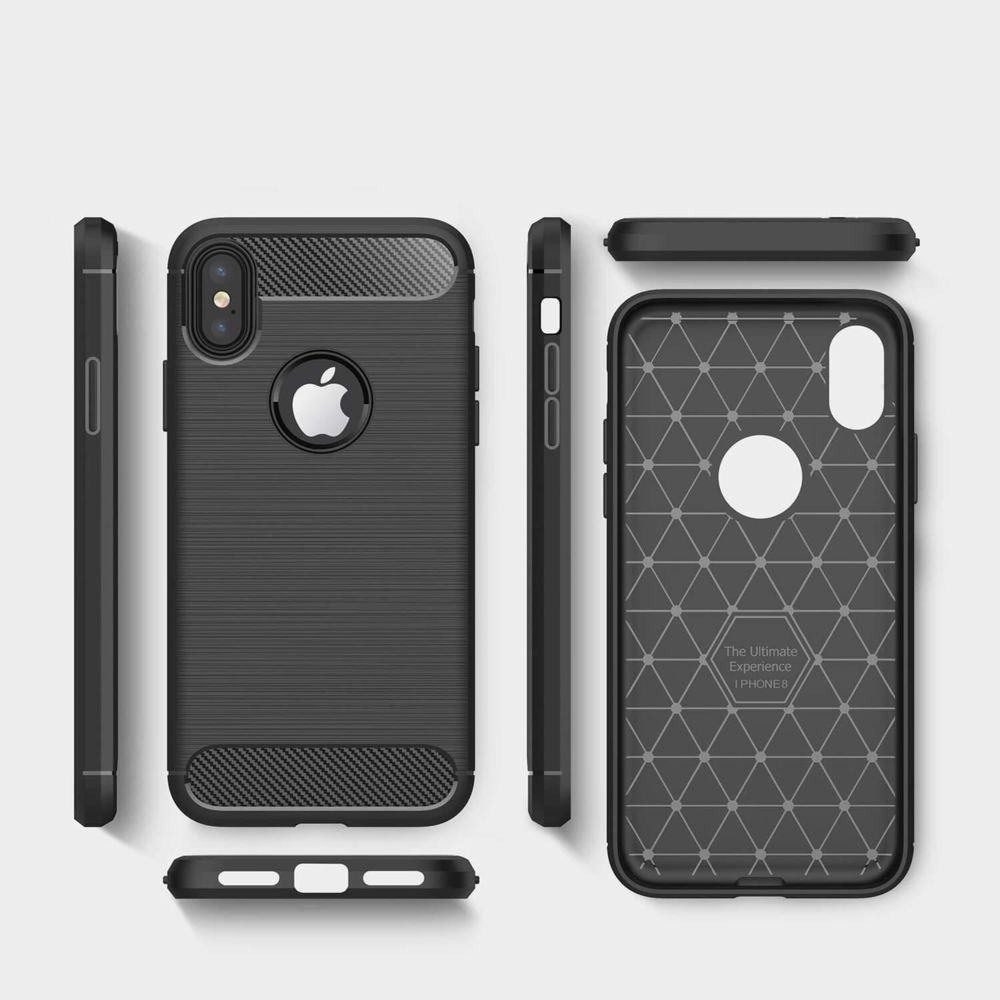 Cabling - CABLING® Coque iphone 6, Coque iphone 6s, Noir Silicone ...