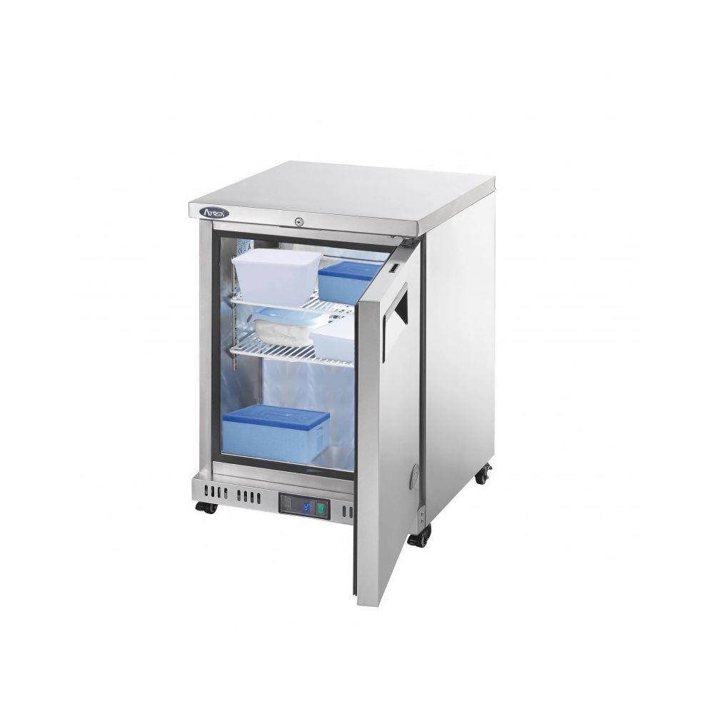 Atosa Mini Congélateur Professionnel Tropicalisé à Roulettes - 145 L - Atosa - R290 1 Porte