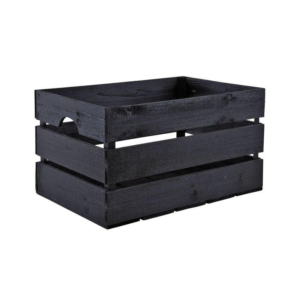Aubry Gaspard Caisse en bois peint noir