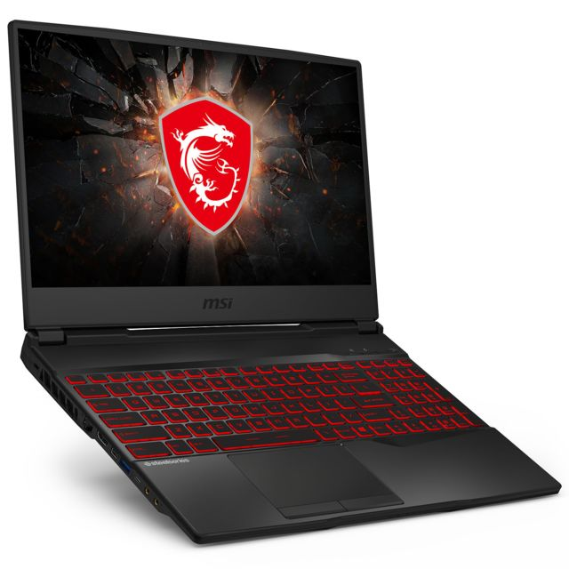 Msi - GL65-Leopard-10SDR-447XFR - Noir - PC Portable Gamer 144 hz