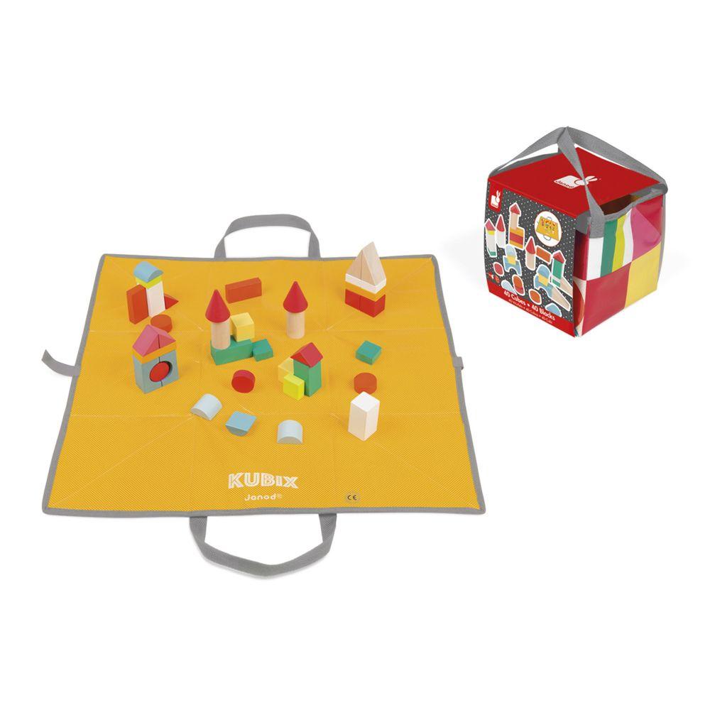 Janod Cubes Kubix : 40 Cubes