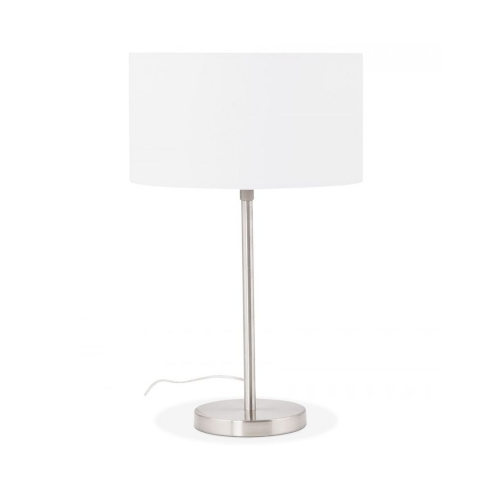 Kokoon Design Lampe de table TIGUA WHITE 36x36x79 cm