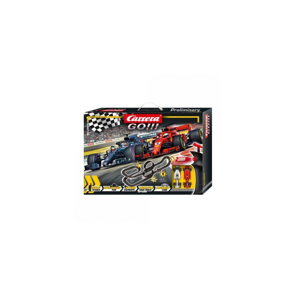 carrera Circuit voitures Coffret No Limits - Dès 6 ans - Carrera GO!!! 62485