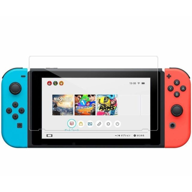 Ineck - INECK® Nintendo Switch Verre trempé Anti-Scratch Full HD 9H Dureté Film de protection en verre trempé pour Nintendo Switch Console - Protection écran tablette
