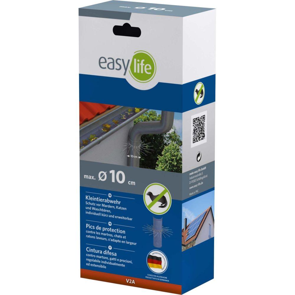 Easy Life Protection contre martres en acier inoxydable