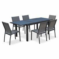 Table jardin aluminium verre - Achat Table jardin aluminium ...
