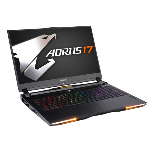 Gigabyte - AORUS 17-SA-7FR1130SH - Gris anthracite - PC Portable Gamer 144 hz