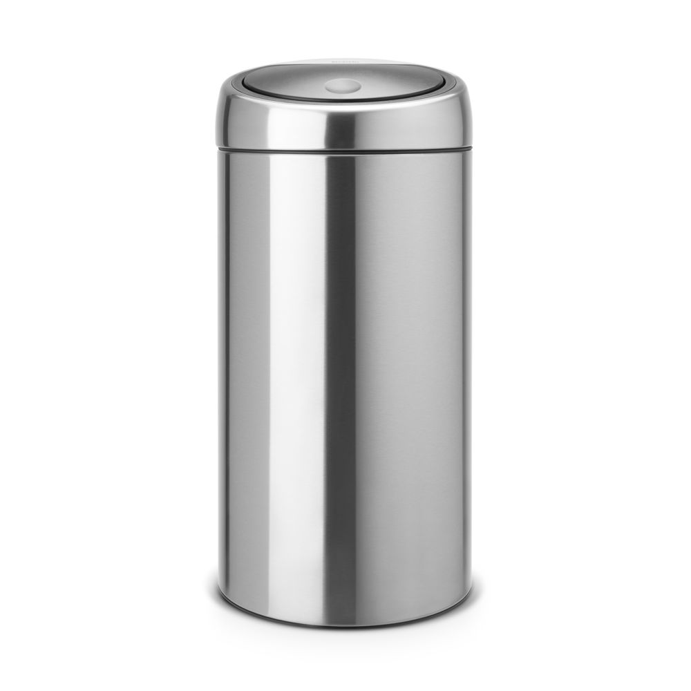 BRABANTIA Touch Bin, 45L - Matt Steel Fingerprint Proof